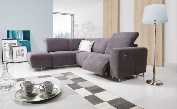 Lotta - ספה פינתית עם ריקליינר